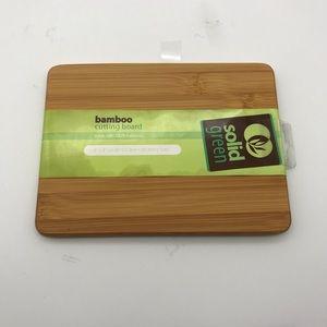 """Bamboo cutting board 6x8"""" mini"""